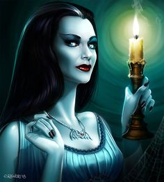 Lily Munster by elirain on DeviantArt Lily Munster, The Munsters, Munsters Tv Show, Munsters House, Morticia Addams, Horror Icons, Horror Art, Sexy Horror, Yvonne De Carlo