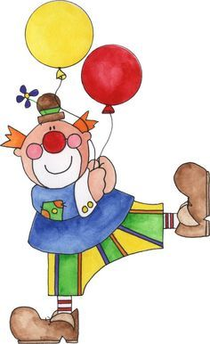 Blow your guests away with Clown balloons from Zazzle! Fill up a room with helium and table top balloons for your party or celebration. Clown Balloons, Circus Crafts, Clown Party, Birthday Clown, Le Clown, Send In The Clowns, Birthday Clipart, Cute Clipart, Circus Theme