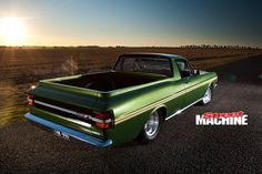 Two years of hard slogging turned this XY Falcon Ute from a rust bucket into a stunner Classic Trucks, Classic Cars, Custom Radiator, Aussie Muscle Cars, Ford Girl, Australian Cars, Car Camper, Ford Falcon, Drag Cars