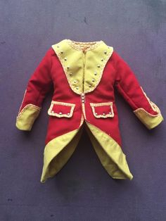 Greystone Collectibles British Redcoat 1745 Regimental Coat loose 1/6th scale | eBay