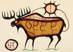 missing morrisseau painting, presumed stolen in the Toronto Yorkville area Canadian Painters, Canadian Artists, Aboriginal Art, Native Art, First Nations, Art Inspo, New Art, Nativity, Concept Art