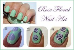 105-Create-Rose-Floral-Design-with-Step-by-Step-Nail-Art-Tutorial-01