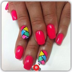 No need for overly complicated patterns or too expensive equipment to do … – neon nail art Flower Nail Designs, Black Nail Designs, Colorful Nail Designs, Toe Nail Designs, Neon Nail Art, Neon Nails, Spring Nails, Summer Nails, Trendy Nails
