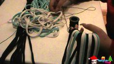 Como hacer bufandas con playeras recicladas three different scarves made on here