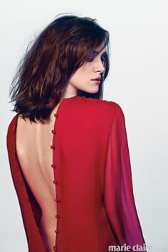 Keira Knightley, Marie Claire March 2013