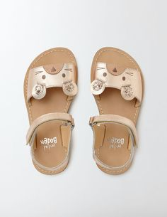 Vacation Sandals (Rose Gold)