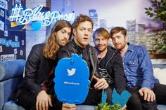 Imagine Dragons at the Twitter Blueroom in Syndey. Images by Tawfik Elgazzar.