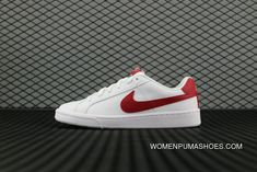 71aab7875e1 Nike Court Royale Sl 826670 160 White Gym Red Cobblestone Blanc Cailloux  Rouge Gym 844802 103 Running Shoes Copuon