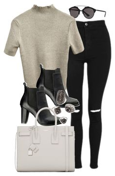Sin título #11890 by vany-alvarado on Polyvore featuring polyvore, moda, style, Topshop, SWEET MANGO, Yves Saint Laurent, Forever 21, Christian Dior, fashion and clothing