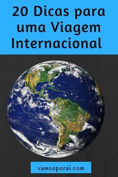 Descubra 20 dicas que te ajudarão a planejar sua viagem internacional: hospedagem, roteiro, transporte, seguro e muito mais. #dicasdeviagem #ferias #viageminternacional #viagemparaoexterior #viajar