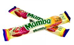 mambas are the best candy in the world if you don't like them you are a crazy person I am going to use up all my characters to tell you how awesome they are and how you should go to the store wright now btw the sour kind are good too and best found at gas stations their are four different kinds lemon  orange  strawberry and raspberry❤️❤️❤️❤️❤️❤️ those are the flavored in the regular pack you get three different flavored per pack so go out now and buy some well why not all of them there and…