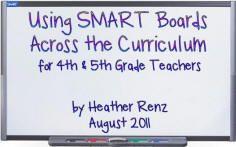 4th Grade Smart Board stuff