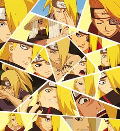 OK, I must admit that first, I was scared of Deidara. But then, he became a character that means so much for me. I really like him.