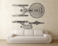 Star Trek Wall Cling