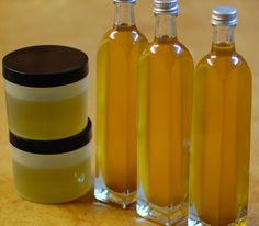 How to Make Herbal Infused Oil - some great ideas here, including recipes for massage oil, comfrey healing salve, etc.