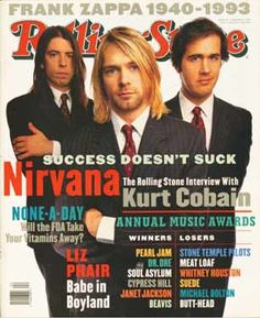 Kurt Cobain, The Rolling Stone Interview: Success Doesn't Suck