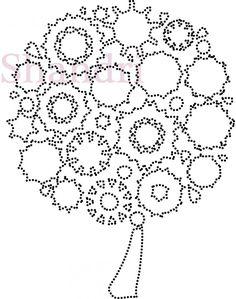 Bloemenboom | Bloemen en Planten | glittermotifs