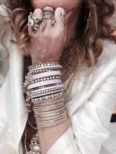 Bijoux boheme Bling bling Bohemian bangles