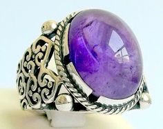 925 Sterling Silver Men's Ring with Unique Real by lunasilvershop, $100.00  http://instagram.com/p/lQtYnvSRwb/