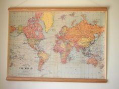 Map close up