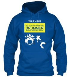 Warning Do Not Disturb The Drummer Serious Injury May Occur Royal #drumsshirt,drums shirts,drums tshirt,drums tshirts, #music drums tee shirt #drummer heartbeat #music drum stick drummer, drummers, drummer girl, drummer evolution, drummer t shirt, funny drummer shirt, drummer tee shirts, drummer evolution t shirt #drums #drummer #drumming #drumandbass #fathersday, #memorialday, #4thjuly, #independenceday #birthday #newyear #christmas. New Music Tee Store…