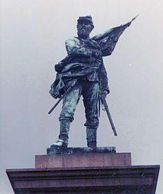 Confederate Soldiers Monument, Magnolia Cemetery, Charleston, South Carolina