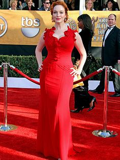 Christina Hendricks - Size 14 and works every bit of it. Preach on girl.