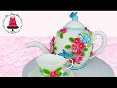 Learn how to make an authentic teapot cake. I will take you through every step you need to take, in order to re-create this beautiful cake at home. This is a...