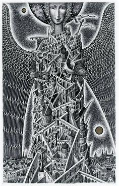 by Roman Sustov (b1977; Minsk, Belarus)