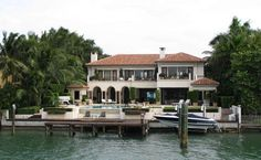 Will Smith's home on Star Island.