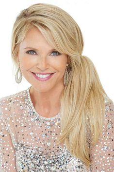Find The Clip-In 12 inch Pony Hair Piece by Christie Brinkley. Easy-to-attach long, straight layered clip-in ponytail. Easy Hairstyles, Straight Hairstyles, Formal Hairstyles, Date Night Hair, Clip In Hair Pieces, Clip In Ponytail, Christie Brinkley, Ombre Hair Color, Hair Dos