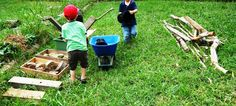 let the children play: celebrating loose parts in the preschool playground