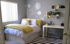 Great teen or guest bedroom