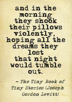 The Tiny Book of Tiny Stories (Joseph Gordon Levitt)