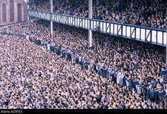 Goodison Park - Everton FC vs Liverpool FC in 1988 Football Music, Rangers Football, Football Fans, Arsenal Football, Tottenham Football, Liverpool Football Club, Liverpool Fc, Derby, Liverpool City Centre