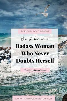 Self Development, Personal Development, Self Improvement Quotes, Habits Of Successful People, Badass Women, Self Esteem, Healthy Habits, Success Quotes, Self Help