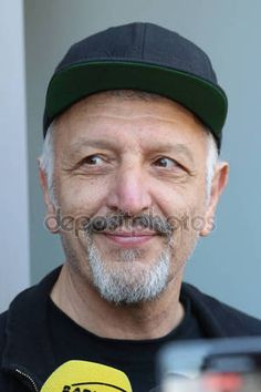 Diego Spagnoli Director of the shows of Vasco Rossi rocker — Foto Editoriale Stock © frizio #153397538