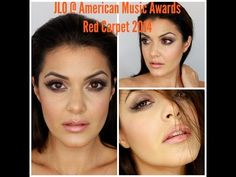 ▶ JLO aka Jennifer Lopez AMAs 2014 inspired makeup - YouTube