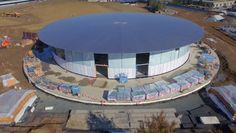 It's only a few days since the last drone flyover of the Apple Campus 2,