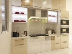 Grey Modular Kitchen Designs  Home  Pinterest  Kitchen Design Adorable Home Kitchen Design India Inspiration Design
