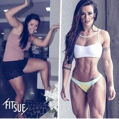 Tag Someone Thats Making a Fitness Transformation  Want to Make a Transformation Like This? Check bio for our Five Star 12-Week Transformation Program! Use #TransformFitspoCommunity for a chance to Get Your Transformation Featured  @suelasmar There was a point in my life where I was very unhappy with the way I looked. I decided to make a change and I cleaned up my diet and started working out 4-5 times a week. I would never skip any meals and always made sure I stuck to my training routine…