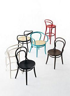 Thonet chairs...