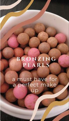 Absorb oils on your face while giving your face a sun kissed glow! 1 jar lasts 2 years 😱 great for all skin colors and skin types #skincare #makeup #bronze #bronzemakeup #nuskin Nu Skin, Bronzing Pearls, Bronze Makeup, Pearl Color, Anti Aging Skin Care, Skin Colors, Make Up, Sun Kissed, Skin Products