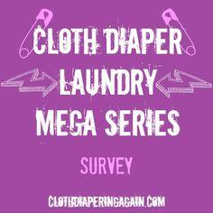 Cloth Diaper Laundry Detergent Survey - ClothDiaperingAgain.com