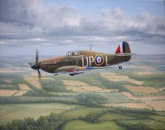 West RAF print Spitfires High Patrol signed by Spitfire pilot Peter Ayerst P