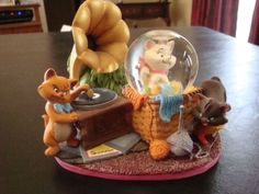 RARE Disney Aristocats Snow Globe | eBay