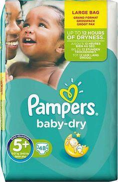 3 6x 31 Stück Pampers Baby Dry Pants Gr