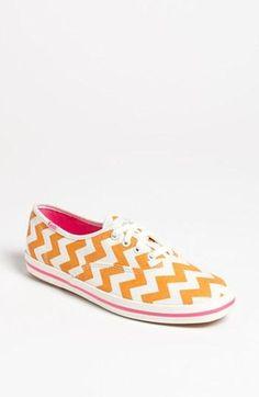 Fun chevron pattern shoes!