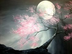 Wicked Moonlight - Sarasota, FL Painting Class - Painting with a Twist