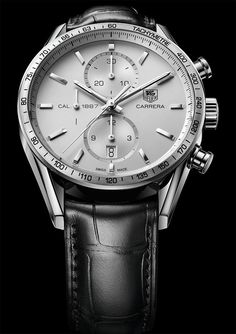 La Cote des Montres : La montre TAG Heuer Carrera Calibre 1887 Chronographe 41 mm